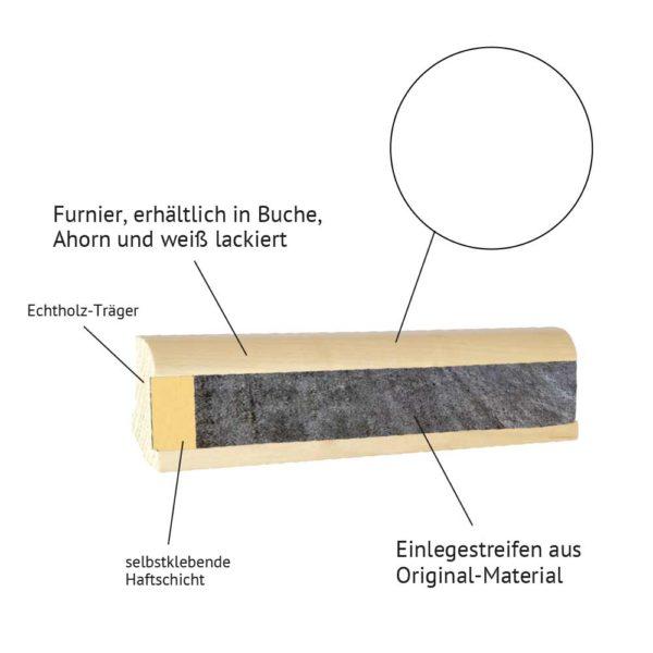 Holzeinlegeleiste-weiss